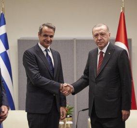 Ολοκληρώθηκε η συνάντηση του Κυριάκου Μητσοτάκη με τον  Ερντογάν - Ακυρώθηκε η συνάντηση με Τραμπ (φώτο -βίντεο)  - Κυρίως Φωτογραφία - Gallery - Video