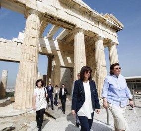 Από σήμερα η Κατερίνα Σακελλαροπούλου έχει instagram: Η πρώτη φωτογραφία της Προέδρου μας από την Ακρόπολη - Κυρίως Φωτογραφία - Gallery - Video
