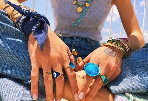 Made in Greece τα κοσμήματα Vally Kontidis: Έντονα καλοκαιρινά χρώματα & ιδιαίτερες γραμμές για την σύγχρονη, δυναμική γυναίκα - Κυρίως Φωτογραφία - Gallery - Video