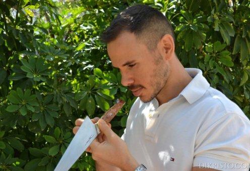 Αποκλειστικό – Made in Greece τα Dikristo: Ο Στέλιος Δρακόπουλος φτιάχνει μαχαίρια έργα-τέχνης για τους σύγχρονους master chef & τις Ελληνίδες μαγείρισσες - Κυρίως Φωτογραφία - Gallery - Video