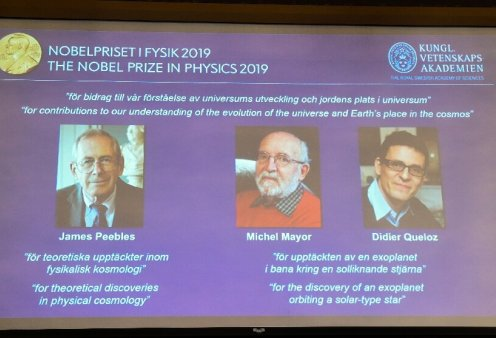 Good news:  Αυτοί είναι οι τρεις νέοι νομπελίστες Φυσικής 2019 – Έπαθλο 910 χιλ. δολαρίων - Κυρίως Φωτογραφία - Gallery - Video