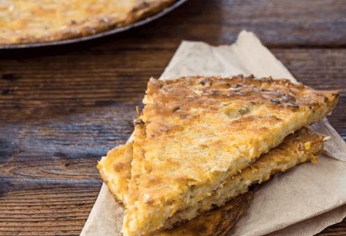 Η Αργυρώ Μπαρμπαρίγου μας φτιάχνει Μπατζίνα - Παραδοσιακή πίτα χωρίς φύλλο με κολοκύθι από την Θεσσαλία  - Κυρίως Φωτογραφία - Gallery - Video