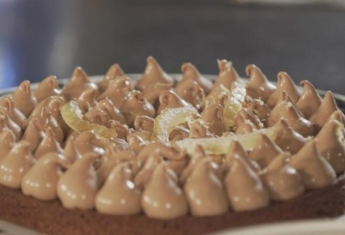 Namelaka: Ο Στέλιος Παρλιάρος μας ταξιδεύει στην Ιαπωνία – Μια λαχταριστή τούρτα με κρέμα σοκολάτας και άρωμα λεμόνι - Κυρίως Φωτογραφία - Gallery - Video