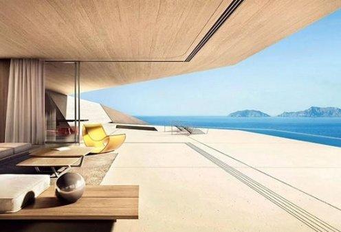 Το διάσημο Designboom έβαλε πρώτο θέμα μια αεροδυναμική εξοχική κατοικία στην Κρήτη - Αρχιτέκτονας ο Κωνσταντίνος Σταθόπουλος (φωτό) - Κυρίως Φωτογραφία - Gallery - Video