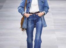 H επίδειξη μόδας της Celine, στο Παρίσι απέδειξε ότι οι Γάλλοι σε ντύνουν σικ ακόμα και με τζιν (φώτο) - Κυρίως Φωτογραφία - Gallery - Video 45