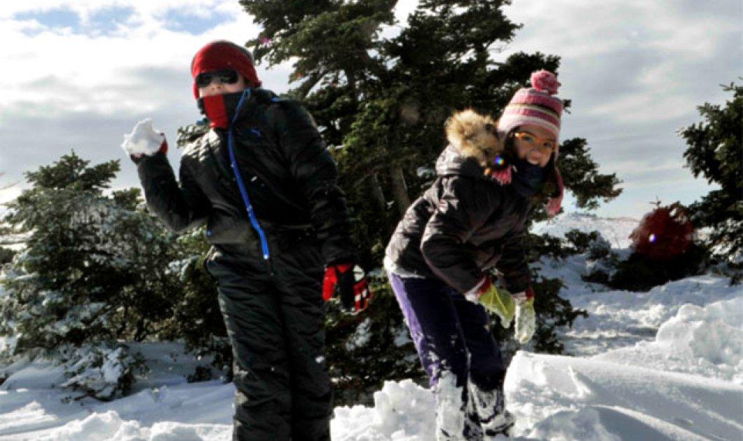 Ήλιος με κρύο σε όλη τη χώρα και χιόνια στα ορεινά - Στους 15 βαθμούς Κελσίου ο υδράργυρος στην Αττική! (βίντεο) - Κυρίως Φωτογραφία - Gallery - Video