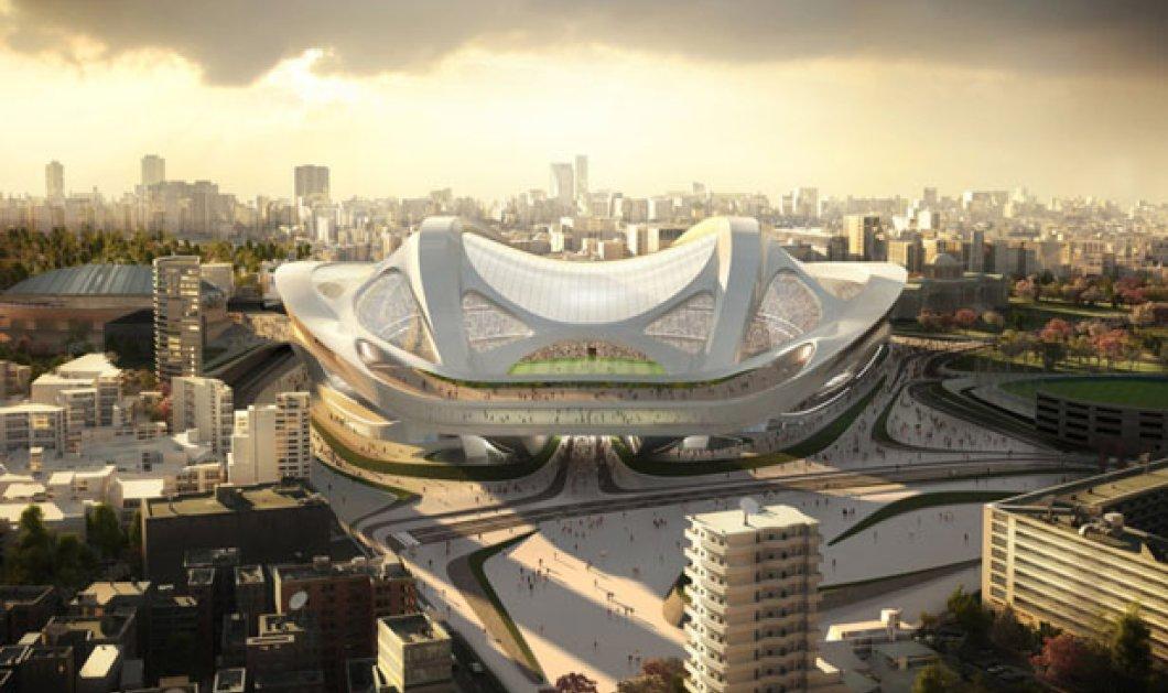 Όλη η Ιαπωνία «πυροβολεί» τη διάσημη αρχιτέκτονα Ζάχα Χαντίντ γιατί το Ολυμπιακό στάδιό της μοιάζει με τεράστιο αιδοίο! (φωτό) - Κυρίως Φωτογραφία - Gallery - Video