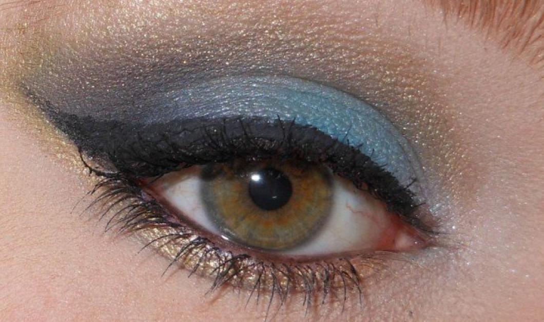 Με έμπνευση το... παγώνι βάψτε τα μάτια σας σε χρυσό, πράσινο & μπλε για να μείνει το βλέμμα σας αξέχαστο... - Κυρίως Φωτογραφία - Gallery - Video
