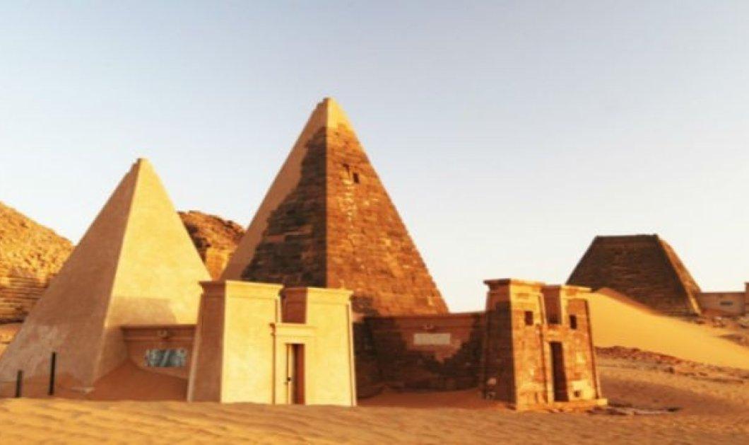 Story: Η ιστορία των περίφημων πυραμίδων της Μερόε - Έτσι δημιουργήθηκαν οι άγνωστες πυραμίδες του Σουδάν - Κυρίως Φωτογραφία - Gallery - Video