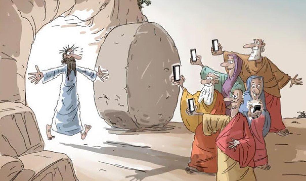 23 μοναδικά σκίτσα που δείχνουν πώς τα smart phones επηρεάζουν τη ζωή μας! Δεν απέχουν πολύ από την πραγματικότητα - Κυρίως Φωτογραφία - Gallery - Video