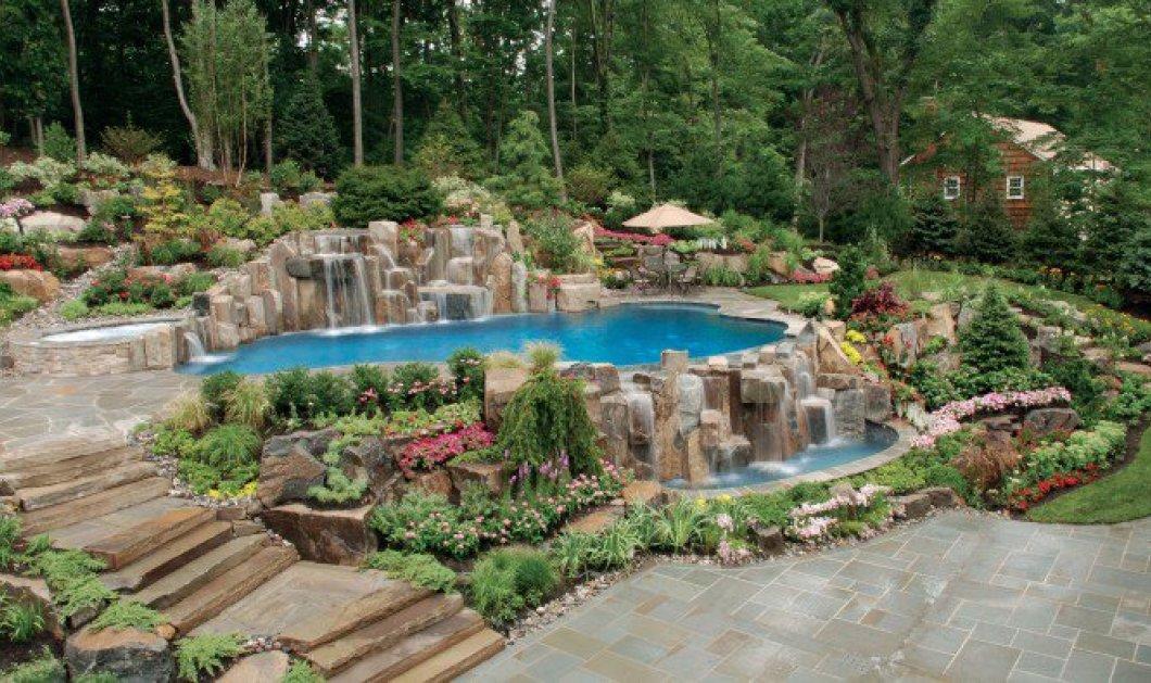 Οι καταρράκτες... σπίτι σας! Παραμυθένιοι κήποι με τρεχούμενα νερά που αναβλύζουν από βραχάκια! - Κυρίως Φωτογραφία - Gallery - Video