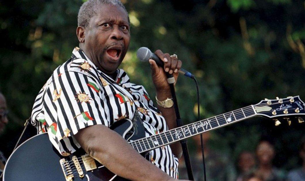 """""""Σίγησε"""" σε ηλικία 89 ετών ο θρύλος των Blues, B.B King - Κυρίως Φωτογραφία - Gallery - Video"""
