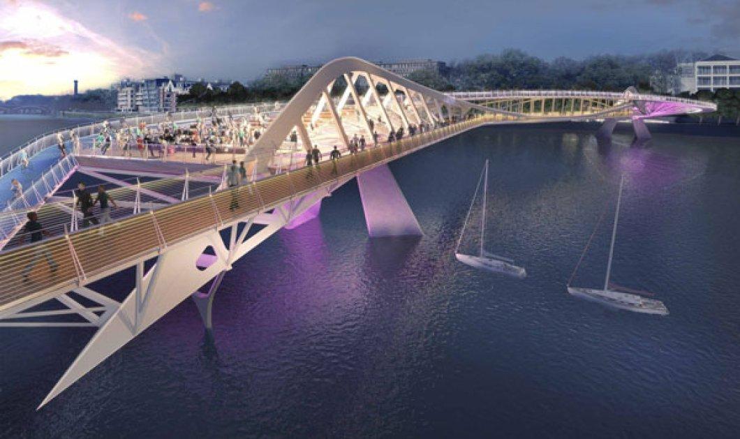 Ιδού οι πιο φουτουριστικές και εξωπραγματικές προτάσεις για τη γέφυρα του Τάμεση! Πώς σας φαίνονται; (slideshow) - Κυρίως Φωτογραφία - Gallery - Video