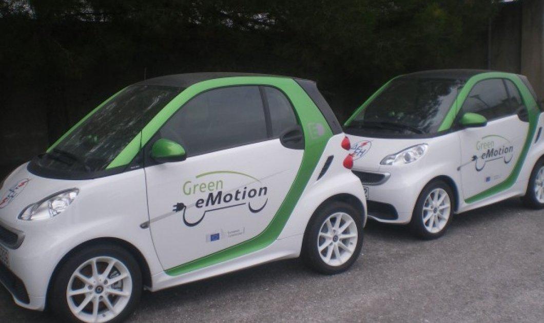 Κοζάνη: Κατέφθασαν τα πρώτα ηλεκτρικά αυτοκίνητα! Θα... «φουλάρουν» από 8 φορτιστές, οι οποίοι θα βρίσκονται διάσπαρτοι σε διάφορα σημεία της πόλης! - Κυρίως Φωτογραφία - Gallery - Video