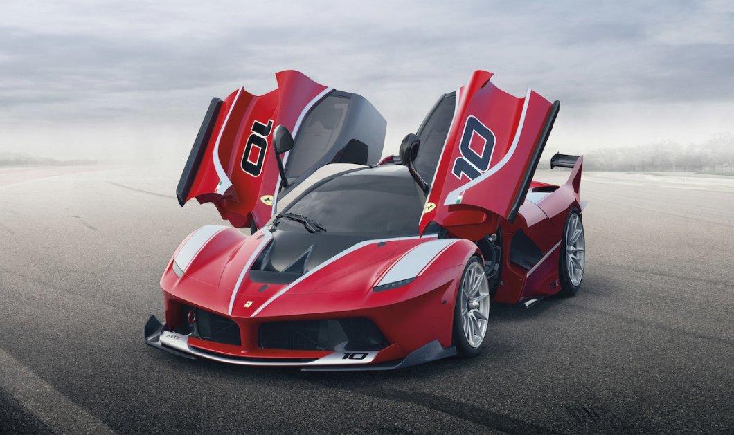 Το νέο υπεραυτοκίνητο της Ferrari: ''Oι πρώτες εικόνες από το υπερταχύ αντικείμενο του πόθου των ανδρών! (φωτό) - Κυρίως Φωτογραφία - Gallery - Video