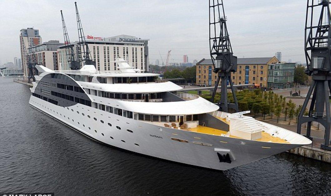 Ιδού τα εγκαίνια του πρώτου πλωτού ξενοδοχείου του Λονδίνου: Το Sunborn yacht είναι πολυτελέστατο, τεράστιο (120 μέτρα), εντυπωσιακό σε κάθε ένα από τους 5 του ορόφους - Σουίτες με χαμάμ & τζακούζι!  - Κυρίως Φωτογραφία - Gallery - Video