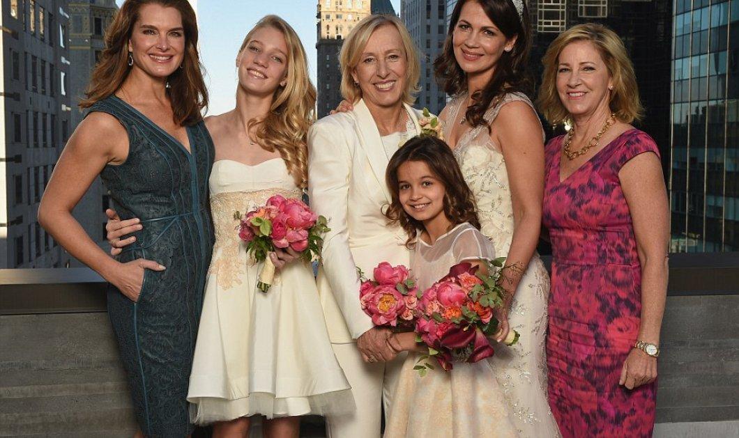 Τζούλια Λεμίγκοβα: ''Πως είπα στα παιδιά μου ότι η Μαρτίνα Ναβραντίλοβα είναι η νέα τους μαμά'' - Μόλις βγήκαν στην δημοσιότητα οι φωτογραφίες γάμου των δύο κοριτσιών! - Κυρίως Φωτογραφία - Gallery - Video