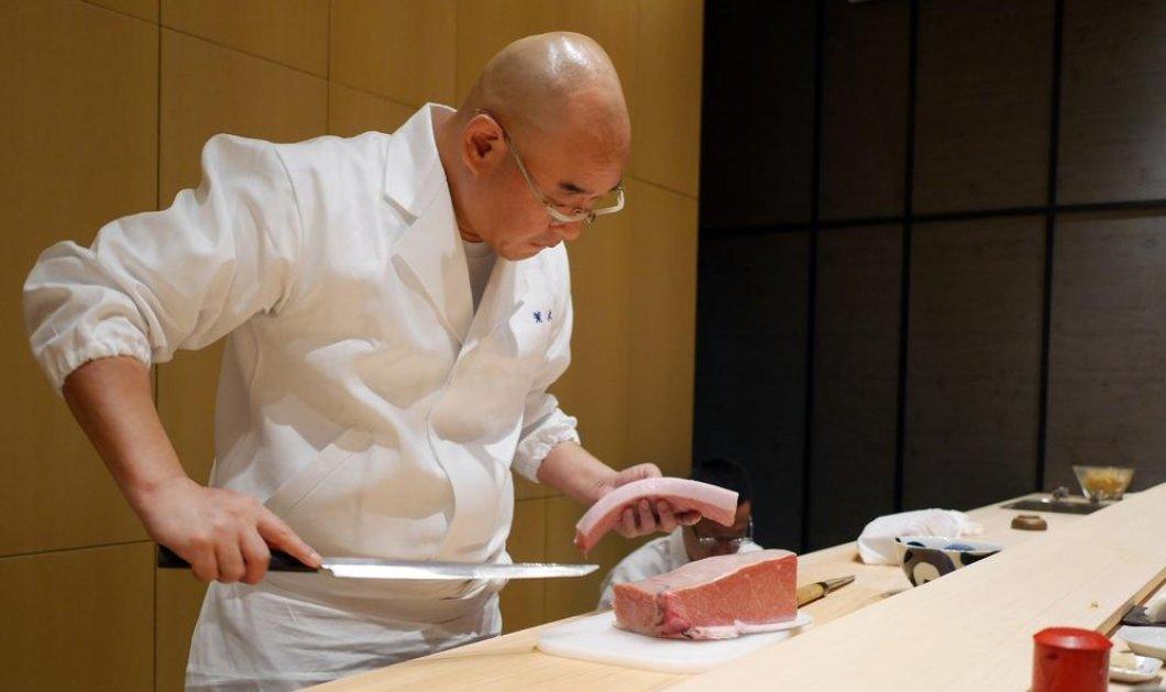 Αυτό είναι το πιο ακριβό sushi restaurant στον κόσμο: Το λένε «The Araki» και ο σεφ του πήρε 3 αστέρια & ήρθε στο Λονδίνο! - Κυρίως Φωτογραφία - Gallery - Video
