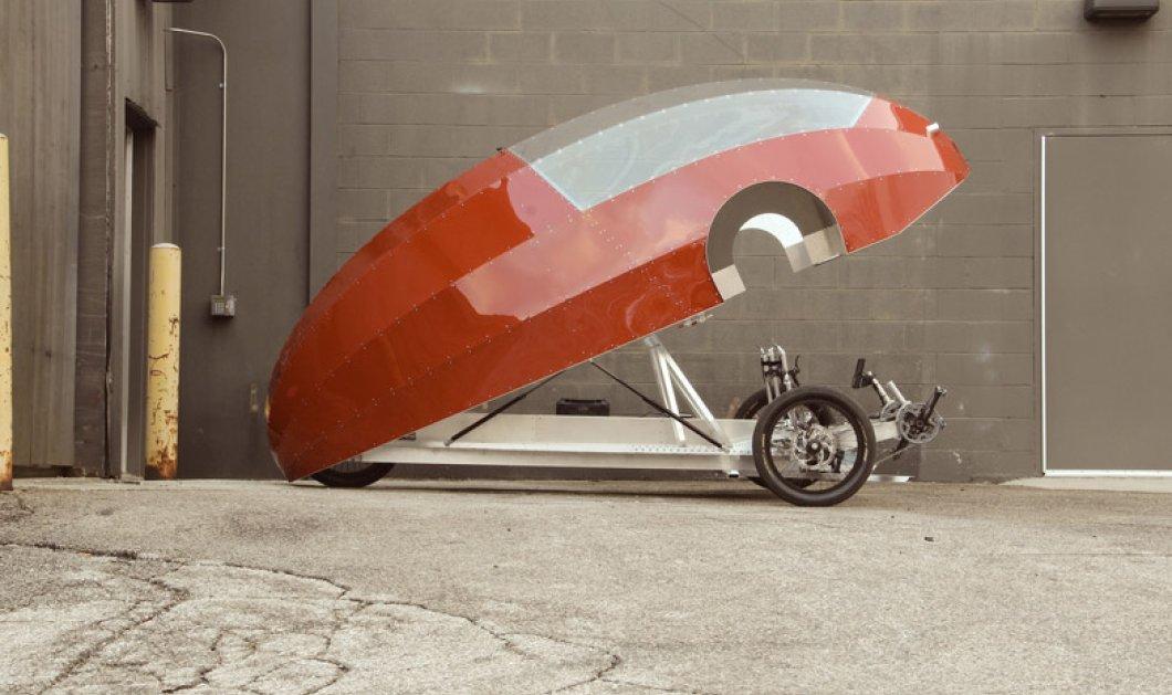 Το μέλλον στο αυτοκίνητο είναι εδώ ! Ζeppelin & Cyclone : Τα δύο ποδήλατο-αυτοκίνητα είναι γεγονός : Θαυμάστε τα! - Κυρίως Φωτογραφία - Gallery - Video