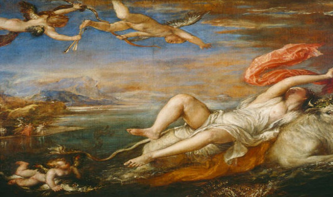 Greek Mythos: Πώς ο Δίας έκλεψε την πανέμορφη Ευρώπη μεταμορφωμένος σε Ταύρο - Ποιος ο συμβολισμός πίσω από τον μύθο; - Κυρίως Φωτογραφία - Gallery - Video