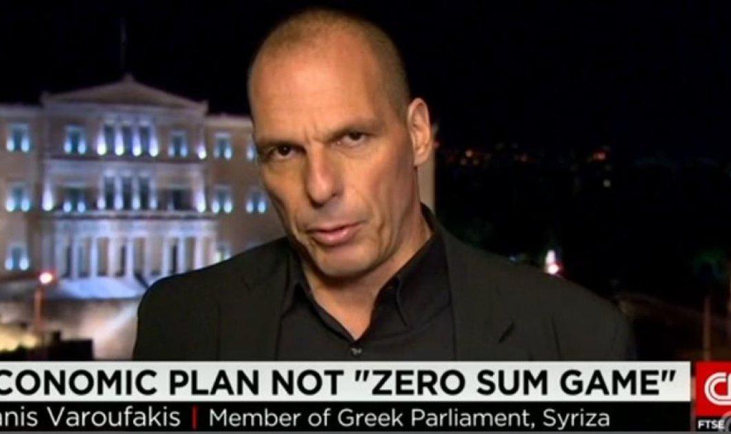 Ο Γ. Βαρουφάκης στις πρώτες συνεντεύξεις του ως Υπουργός στο CNN & CNBC: ''Η Ελλάδα είναι αποφασισμένη να μείνει στο ευρώ'' - Κυρίως Φωτογραφία - Gallery - Video