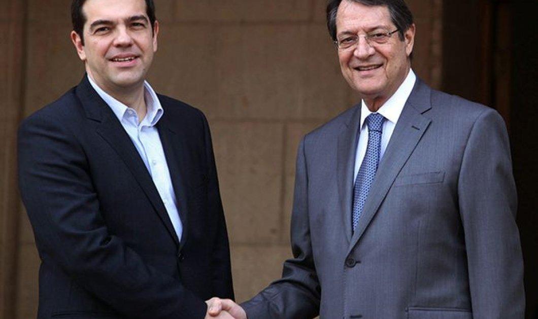 Α. Τσίπρας στην Κύπρο: ''Ελλάδα και Κύπρος παραμένουν δύο σημαντικοί πυλώνες σταθερότητας''! (Φωτό - βίντεο)  - Κυρίως Φωτογραφία - Gallery - Video