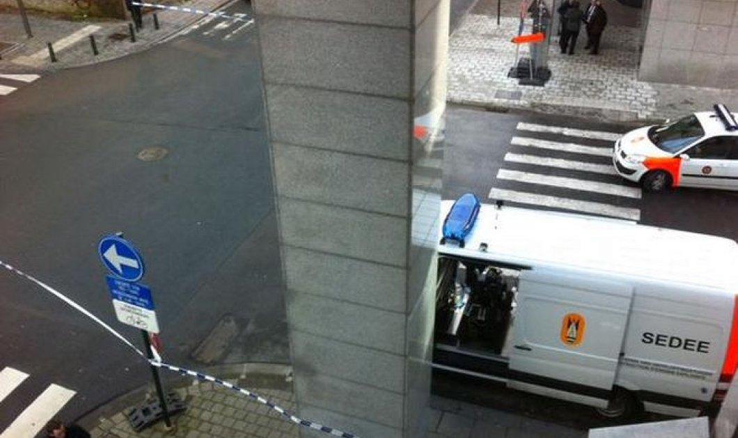 Έκτακτο: Τηλεφώνημα για βόμβα στο Ευρωπαϊκό Κοινοβούλιο! - Κυρίως Φωτογραφία - Gallery - Video