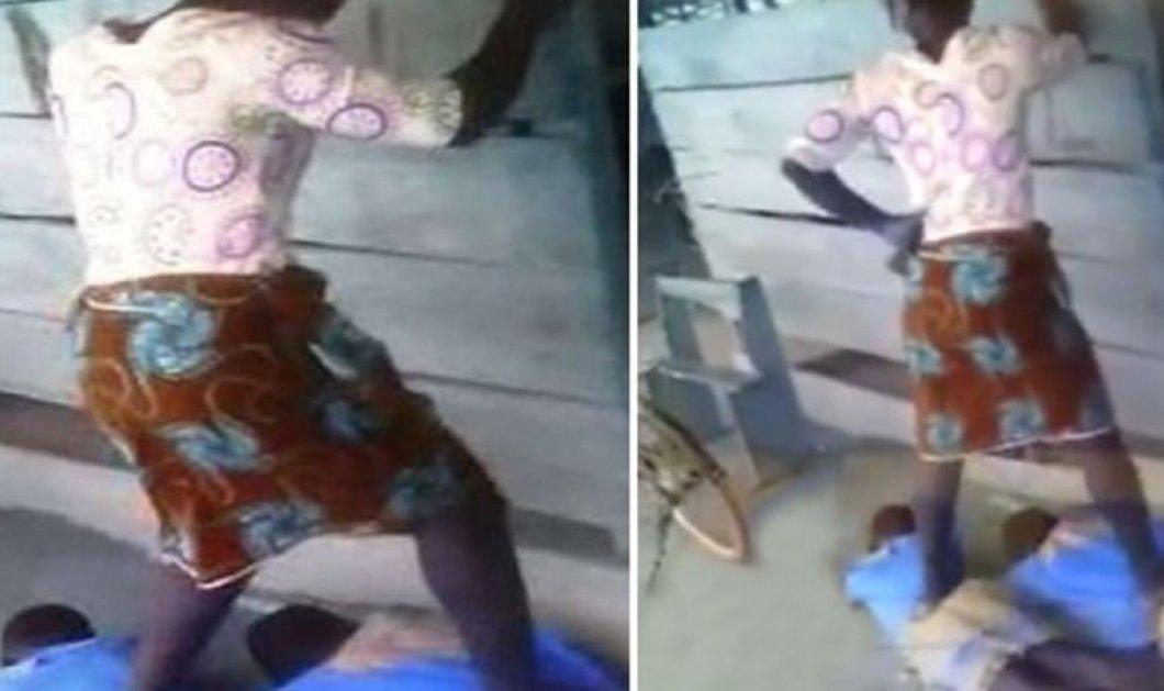 Πρωτοφανείς εικόνες: Δασκάλα ποδοπατάει τους μαθητές της επειδή δεν έκαναν τις εργασίες τους! (βίντεο)  - Κυρίως Φωτογραφία - Gallery - Video
