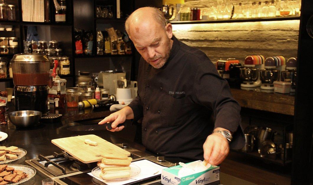 Απόψε ο Στέλιος Παρλιάρος στις 7 δημιουργεί: Κρέμε σοκολάτας με γλυκό κρασί & άλλα Αγ. Βαλεντίνου σοκοερωτευμένα γλυκά! - Κυρίως Φωτογραφία - Gallery - Video