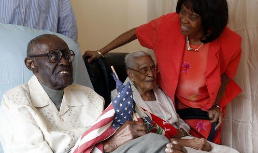Γιορτάζουν 83 χρόνια γάμου! 212 έτη η ηλικία και των δύο αγαπημένων συζύγων μαζί! Νάτοι οι κοτσωνάτοι! (φωτό)  - Κυρίως Φωτογραφία - Gallery - Video
