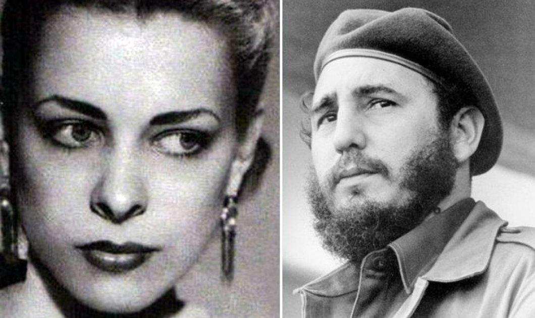 Vintage Love Story: Η Ναταλία Ρεβουέλτα & ο παθιασμένος έρωτας της με τον Φιντέλ Κάστρο!  Απέκτησαν μια κόρη! (φωτό) - Κυρίως Φωτογραφία - Gallery - Video