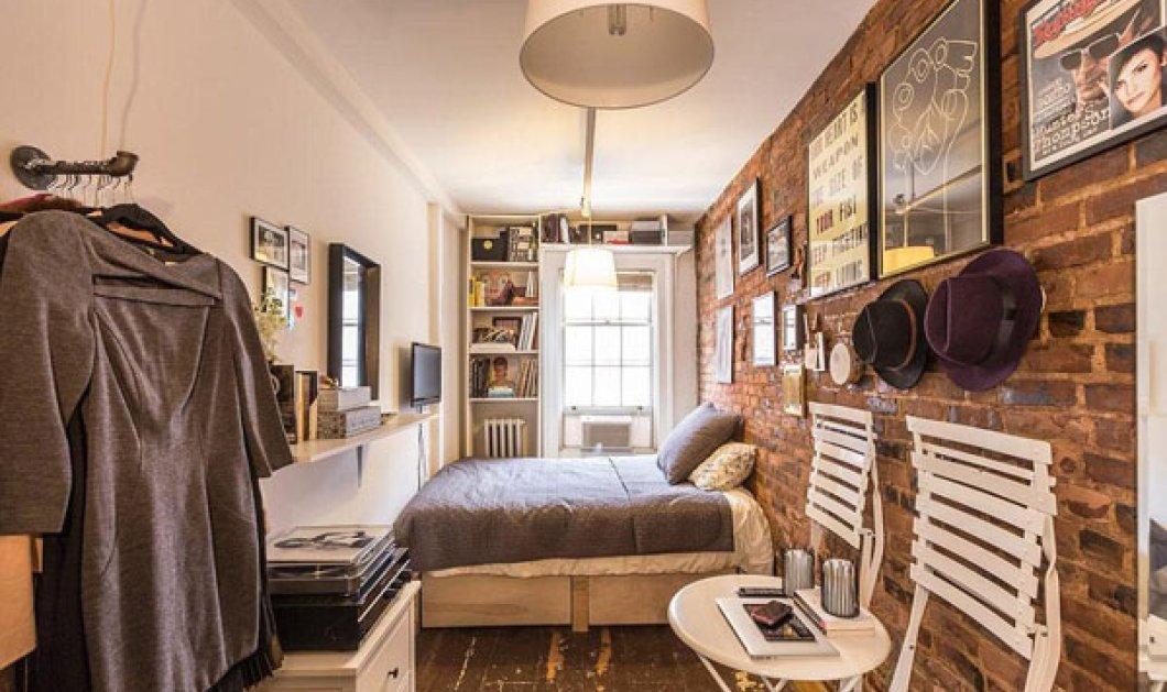 Ένα διαμέρισμα... 8 τετραγωνικών (!) αλλά με όλες τις ανέσεις! Φαντασία να έχετε κι όλα γίνονται! - Κυρίως Φωτογραφία - Gallery - Video