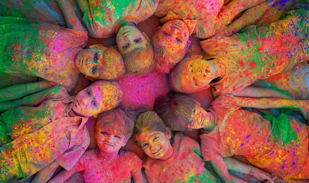 Καλημέρα με έκρηξη χρωμάτων: Η Ινδία και το πιο χαρούμενο φεστιβάλ για την υποδοχή της άνοιξης! Δικό σας σε εικόνες! - Κυρίως Φωτογραφία - Gallery - Video