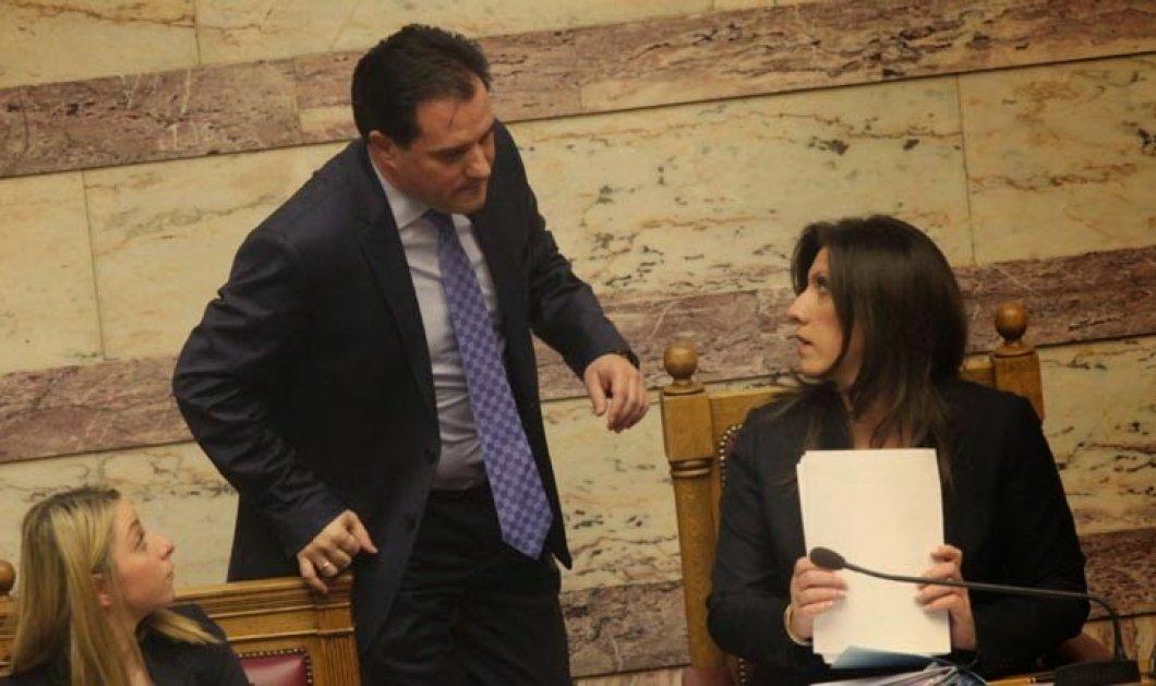 Χαμός στην ολομέλεια της Βουλής ανάμεσα σε Άδωνι και Ζωή - «Δεν έχει ξαναγίνει, συμπεριφέρεσαι σαν τύραννος»! - Κυρίως Φωτογραφία - Gallery - Video