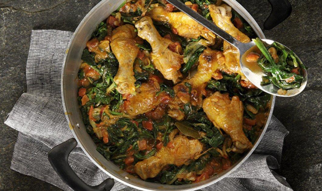 Κοτόπουλο κατσαρόλας με χορταρικά από τον ταλαντούχο σεφ Άκη Πετρετζίκη! Μαγειρεύουμε υγιεινά! - Κυρίως Φωτογραφία - Gallery - Video