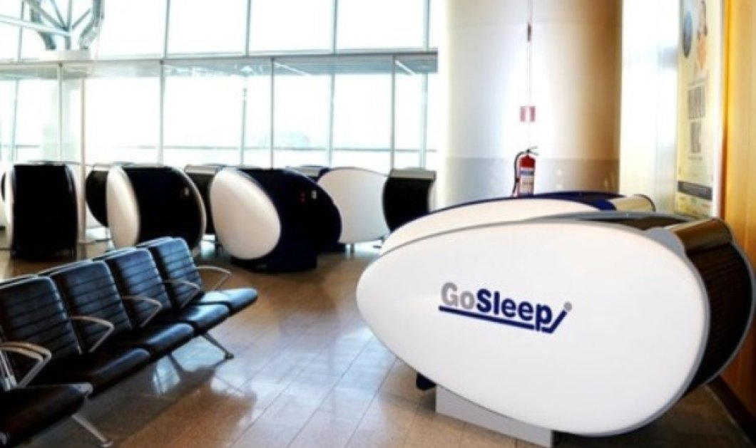 GoSleep: Αυτοί είναι οι ατομικοί και πρωτότυποι θάλαμοι ύπνου στο αεροδρόμιο της Φινλαδίας! - Κυρίως Φωτογραφία - Gallery - Video