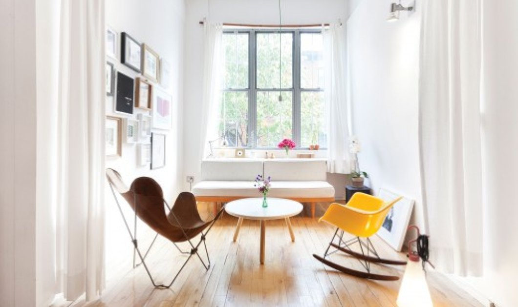 Made in Greece o Λεωνίδας & η Ελένη: Δύο νέοι Θεσσαλονικείς αρχιτέκτονες που σχεδίασαν ένα υπέροχο loft στη Νέα Υόρκη! - Κυρίως Φωτογραφία - Gallery - Video
