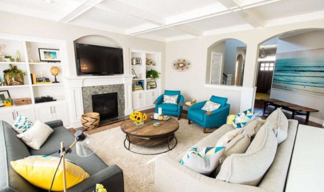 Φωτεινά, ανοιξιάτικα, chic living rooms για να περνάτε όμορφες στιγμές με αγαπημένα πρόσωπα (slideshow) - Κυρίως Φωτογραφία - Gallery - Video