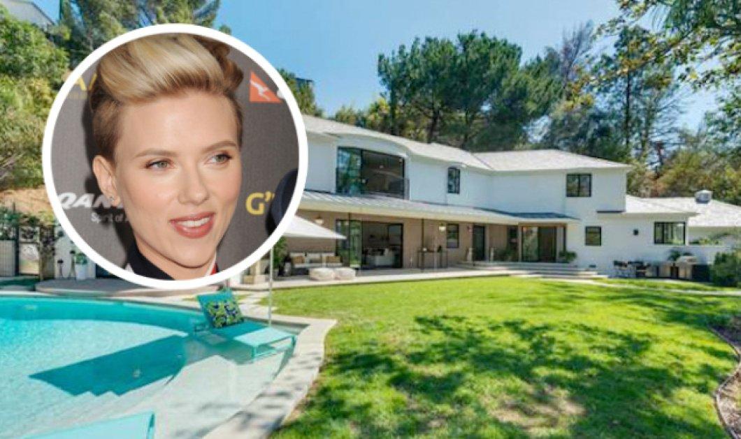 Επίσκεψη στο καινούριο σπίτι της Σκάρλετ Γιόχανσον που κόστισε 3,8 εκ. δολάρια - Έχει spa, πισίνα και 4 μπάνια! - Κυρίως Φωτογραφία - Gallery - Video