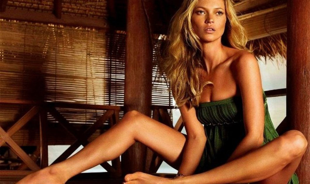Η Kate Moss ποζάρει γυμνή στη θάλασσα και το Ιnstagram παίρνει φωτιά από τα Likes! - Κυρίως Φωτογραφία - Gallery - Video