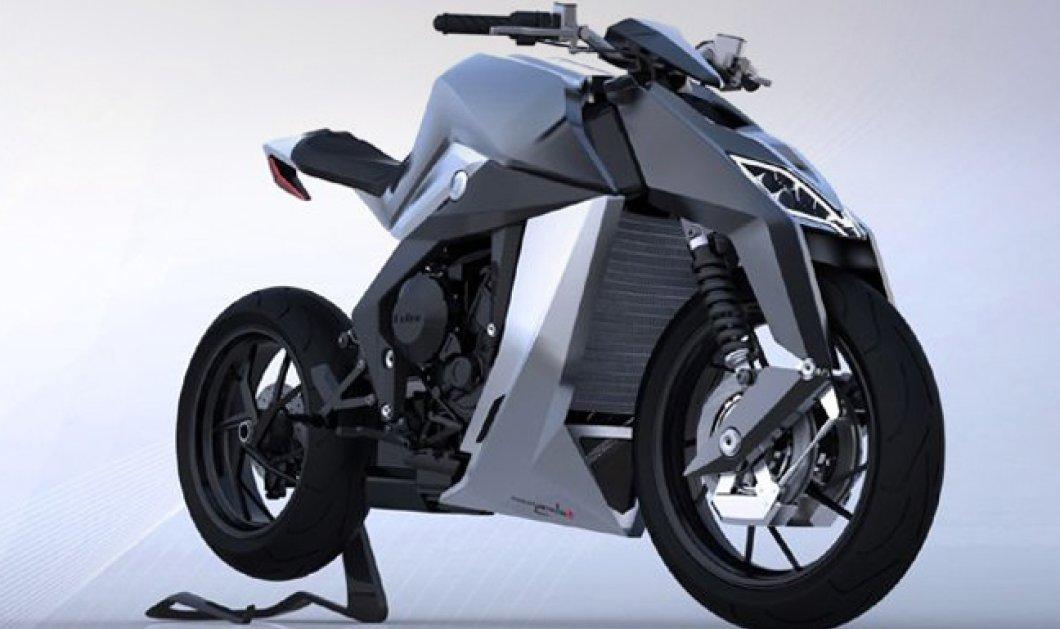 Feline One, η μοτοσικλέτα των 265.000 ευρώ - Το νέο ''διαμάντι'' της MV Agusta με τον φουτουριστικό του σχεδιασμό έρχεται για να μας ξετρελάνει! - Κυρίως Φωτογραφία - Gallery - Video
