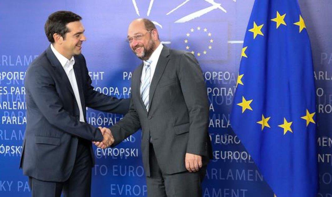 Μ. Σουλτς: ''Η Ελλάδα είναι στο χείλος του γκρεμού'' - Κυρίως Φωτογραφία - Gallery - Video