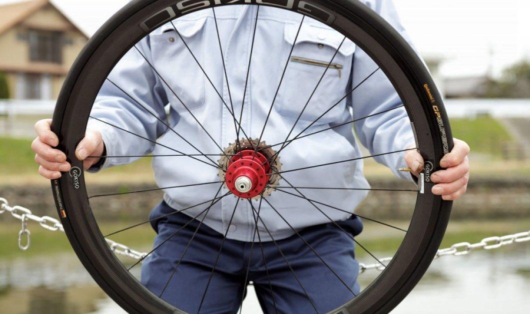 Κι όμως! Αυτές οι σούπερ ρόδες ποδηλάτου κοστίζουν $7,900 το ζευγάρι! - Κυρίως Φωτογραφία - Gallery - Video