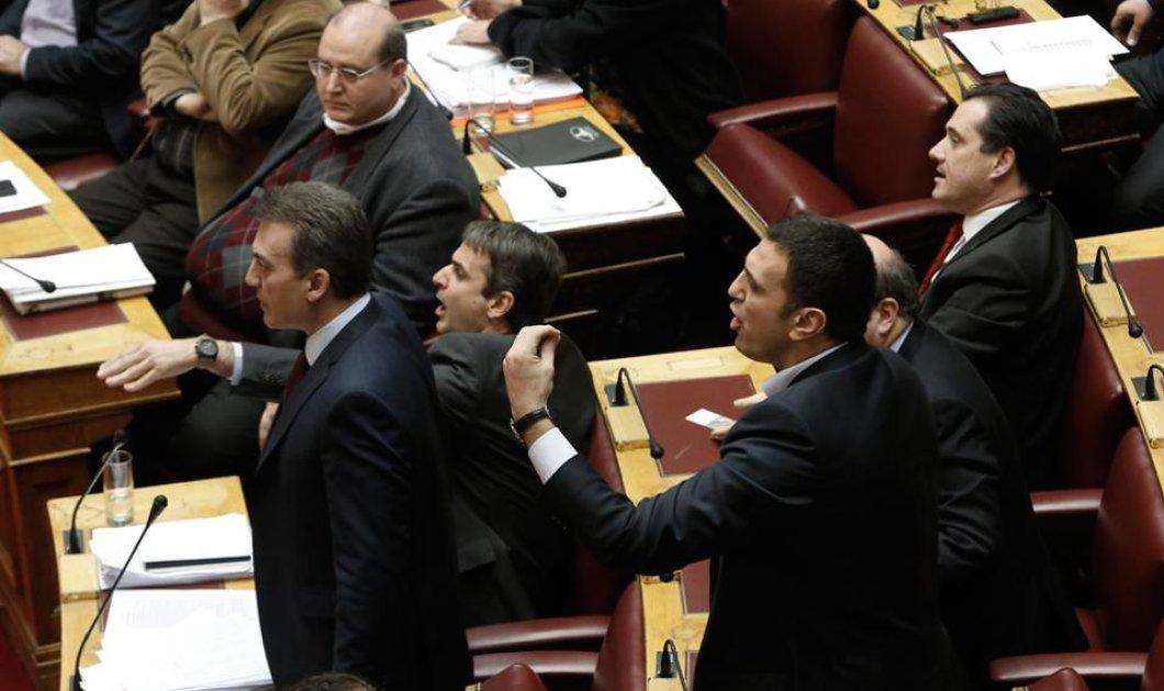 ΝΔ: ''Η κυβέρνηση κάνει ρουσφέτια σε τρομοκράτες και εγκληματίες'' - Υπ. Παρασκευόπουλος: ''Επείγει η αποσυμφόρηση των φυλακών'' - Κυρίως Φωτογραφία - Gallery - Video
