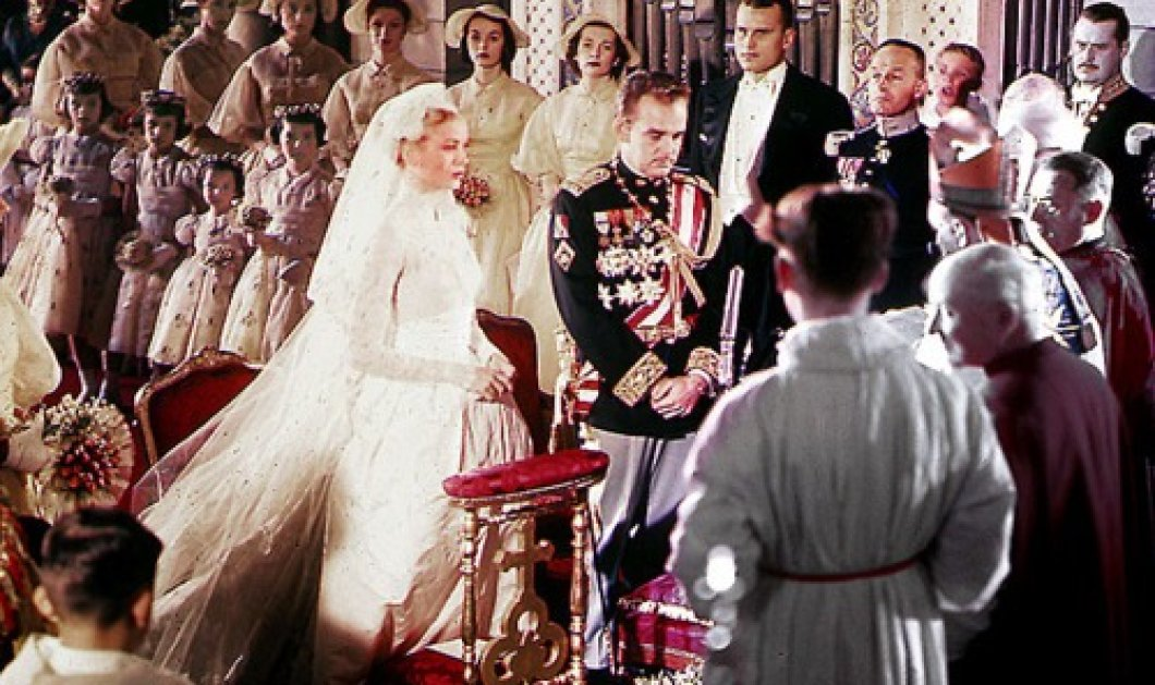 Vintage Wedding Story: 60 χρόνια από τον γάμο του αιώνα - η σταρ του Χόλυγουντ Γκρέις Κέλλυ & ο Πρίγκηπας Ρενιέ! - Κυρίως Φωτογραφία - Gallery - Video
