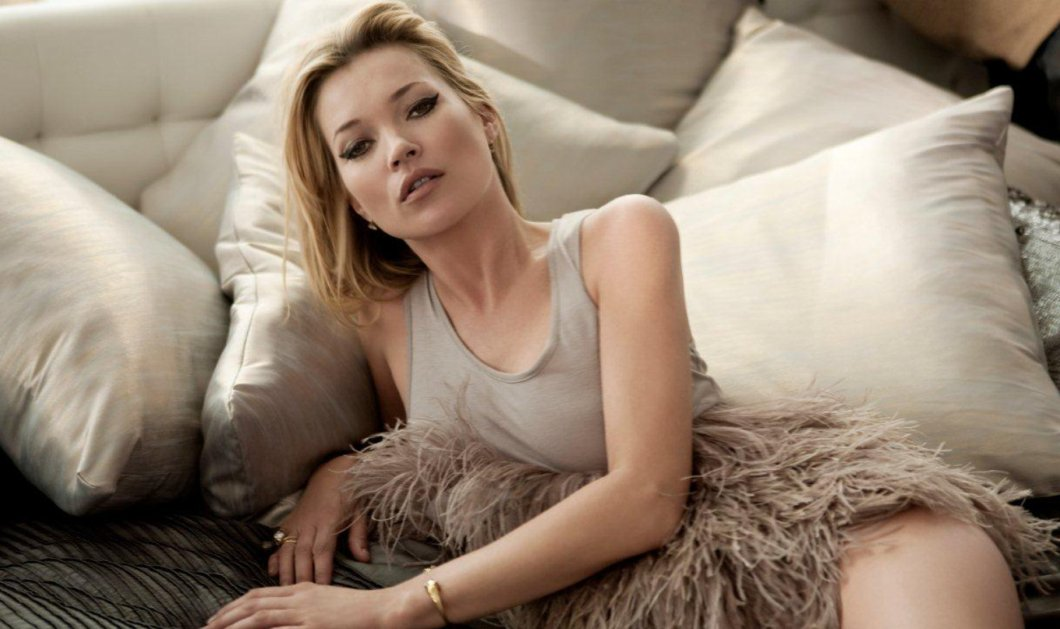 Kate Moss: Αποκαλύπτεται... κομμάτι κομμάτι - Η  νέα εντυπωσιακή φωτογράφιση της μεγαλοκοπέλας καλλονής  - Κυρίως Φωτογραφία - Gallery - Video