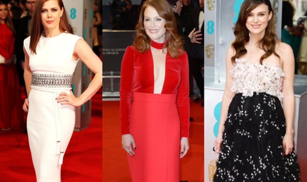 Τουαλέτες με το μισό στήθος έξω φόρεσαν οι βραβευμένες σταρς στα Bafta 2015 - Όλα τα βραβεία & οι εντυπωσιακές φωτό! - Κυρίως Φωτογραφία - Gallery - Video