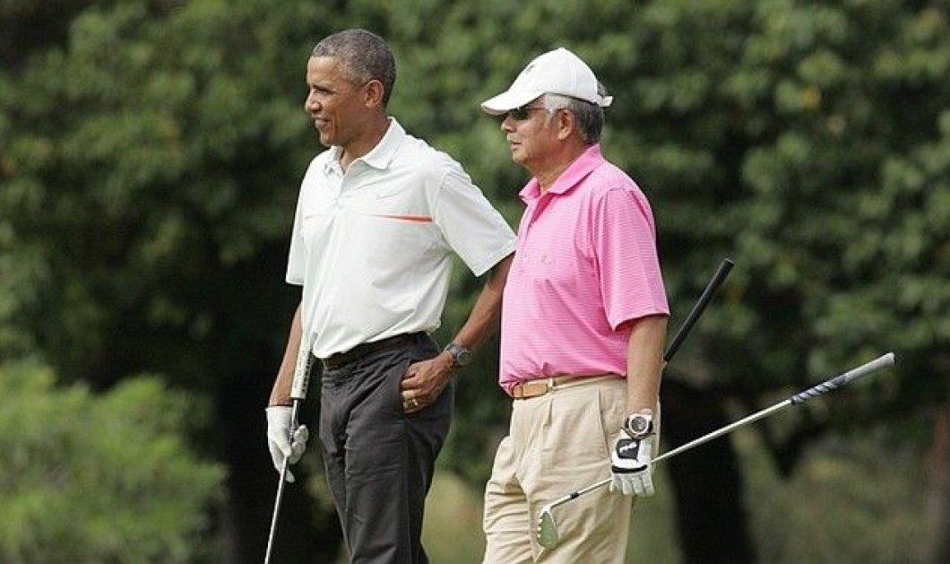Γκολφ στη Χαβάη παίζει ο πρωθυπουργός της Μαλαισίας μαζί με τον Ομπάμα την ώρα που η χώρα πνίγεται από πλημμύρες! - Κυρίως Φωτογραφία - Gallery - Video