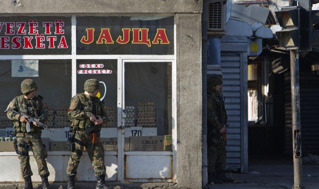 """Στη φυλακή 30 Αλβανοί για το διήμερο κόλασης στα Σκόπια - Εικόνες & βίντεο από τον """"πόλεμο"""" με τους 22 νεκρούς - Κυρίως Φωτογραφία - Gallery - Video"""