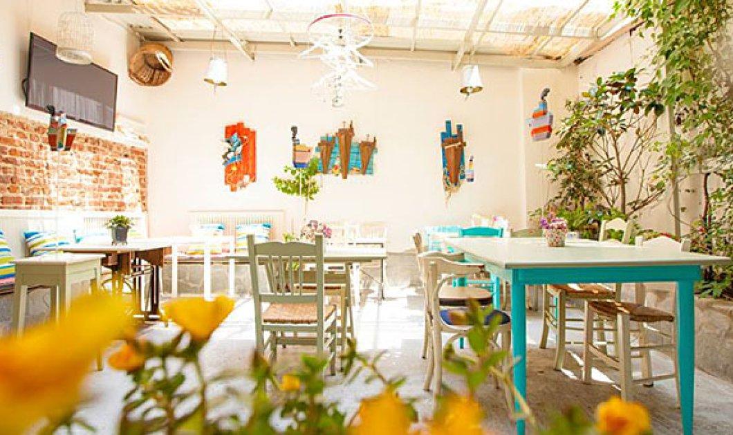 10 δροσερές αυλές για καφέ & τσιμπολόγημα στη Θεσσαλονίκη - η πατρίδα της dolce vita σε νέο look  - Κυρίως Φωτογραφία - Gallery - Video